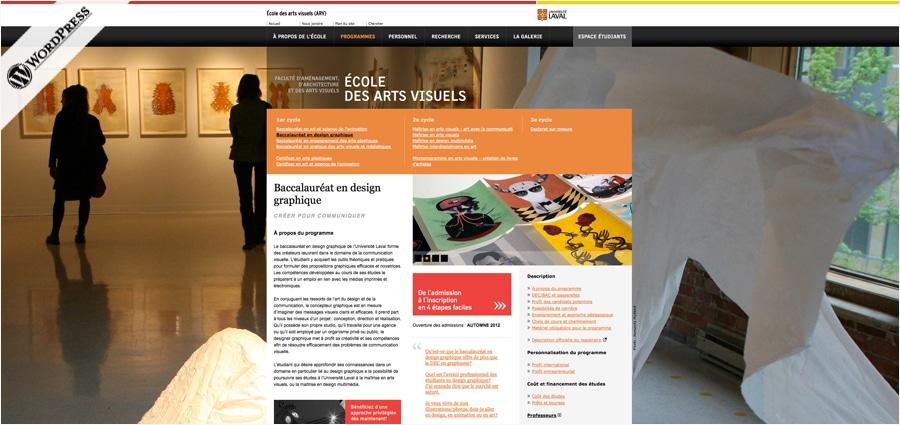 École des arts visuels - UL
