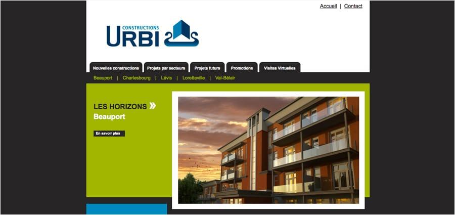 Constructions URBI
